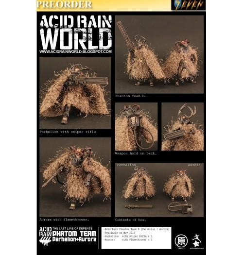 PREORDER: ORI TOY Acid Rain World: Phantom Team B [Parhelion + Aurora]